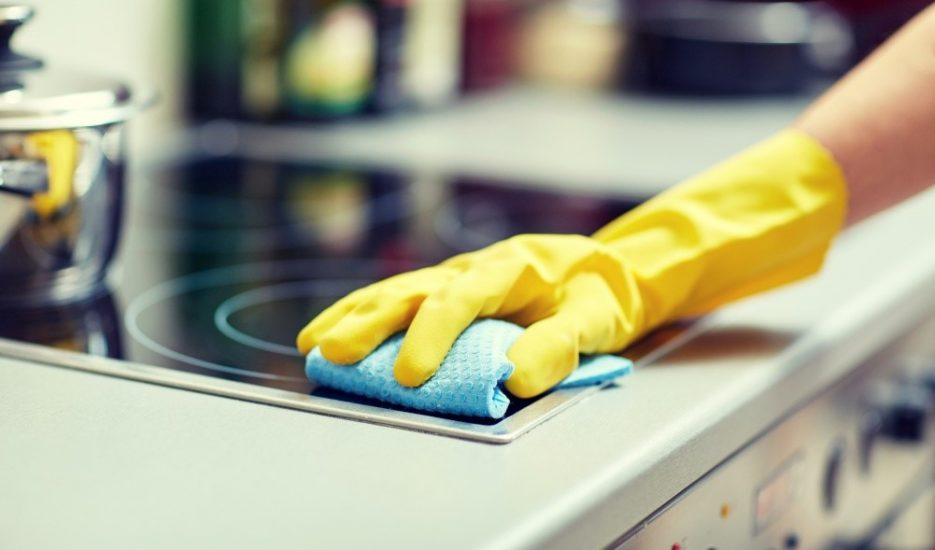The safe and simple way to clean and disinfect your kitchen1